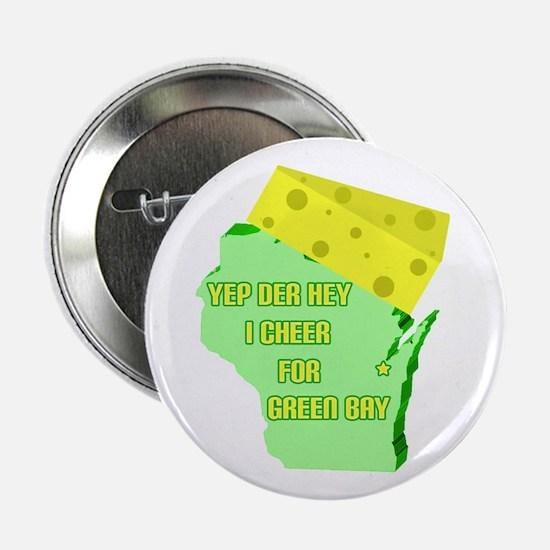 """Green Bay 2.25"""" Button"""