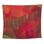 Autumn Fury Abstract Wall Tapestry