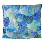 Aquatic Abstract Wall Tapestry