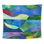 Jungle River Abstract Wall Tapestry