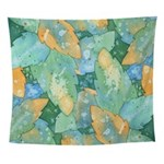 Early Frost Watercolor Wall Tapestry