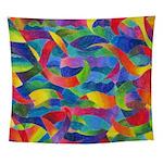 Cosmic Ribbons Wall Tapestry