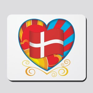 Danish Heart Mousepad