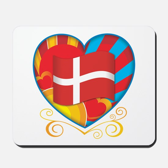 Danish Heart Mousepad