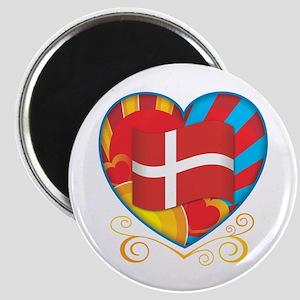 Danish Heart Magnet