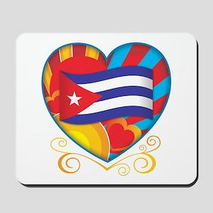 Cuban Heart Mousepad