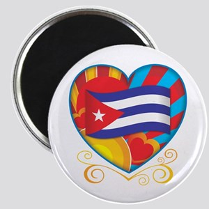 Cuban Heart Magnet