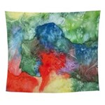 Breach of Containment Abstract Wall Tapestry