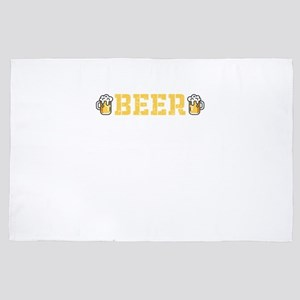 A Day Without Beer T Shirt Funny Gifts 4' x 6' Rug
