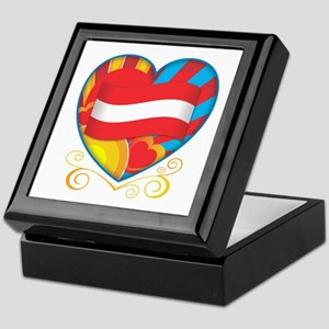 Austrian Heart Keepsake Box
