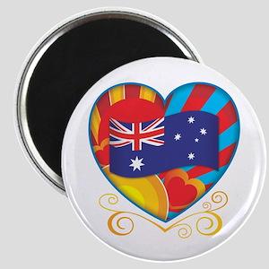 Australian Heart Magnet
