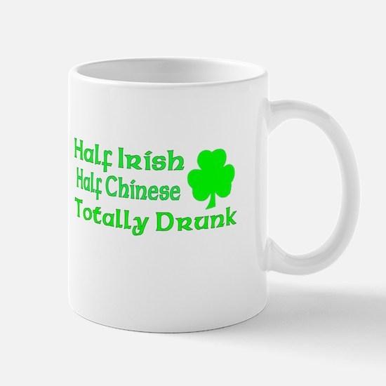 Half Irish Half Chinese Total Mug
