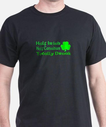 Half Irish Half Canadian Tota T-Shirt