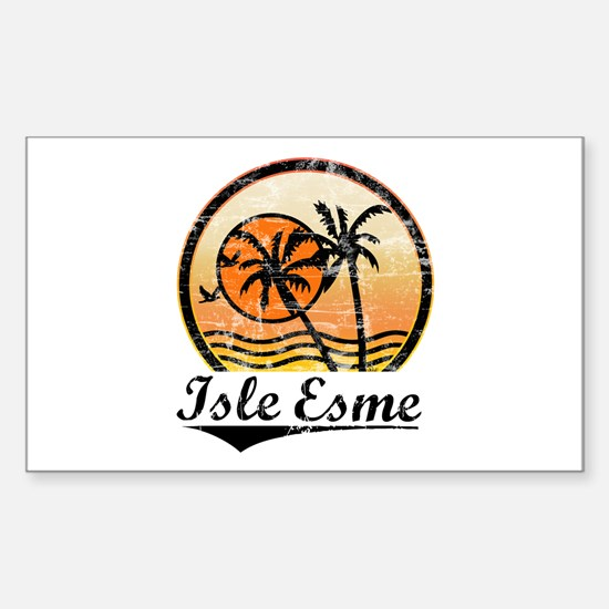 Isle Esme Rectangle Decal