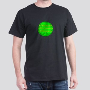 50% Irish 50% Canadaian 100% Dark T-Shirt