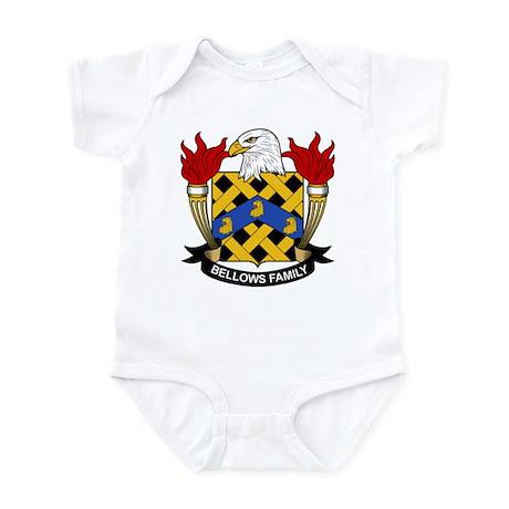 Bellows Family Crest Infant Bodysuit
