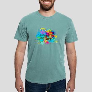 Splash Words of Good Peace T-Shirt