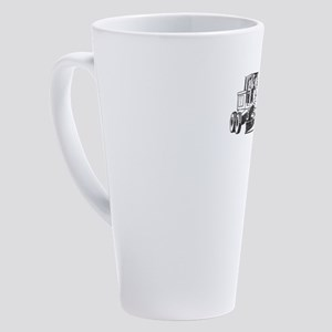 Grader Blade Heavy Construction Eq 17 oz Latte Mug