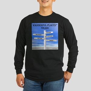 Finland Long Sleeve Dark T-Shirt