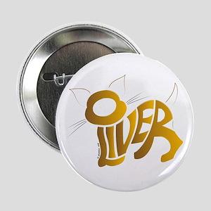 "Oliver (Golden cat) 2.25"" Button"