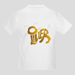 Oliver (Golden cat) Kids Light T-Shirt