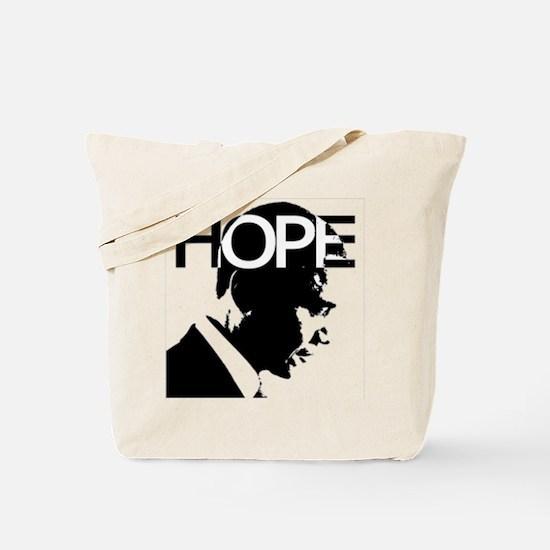 Obama hope Tote Bag