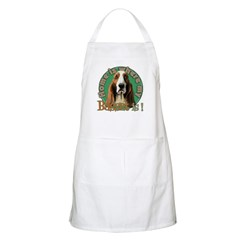 Home is where my Basset is BBQ Apron