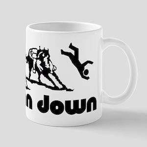 man down cutter Mug