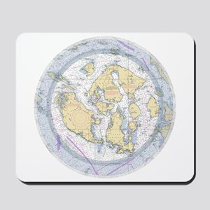 Nautical Sailing Chart Mousepad