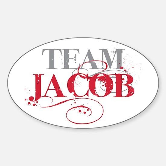 Team Jacob Oval Decal