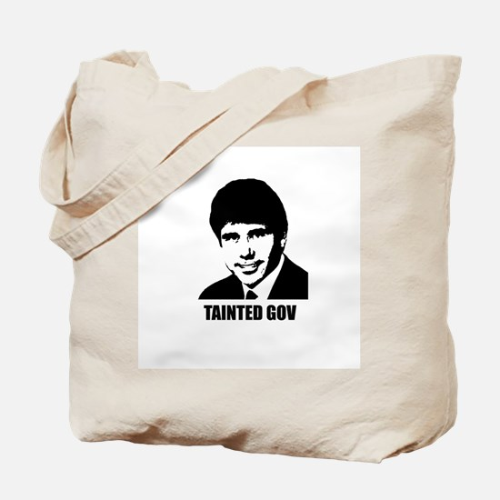 Rod Blagojevich - Tainted Gov Tote Bag