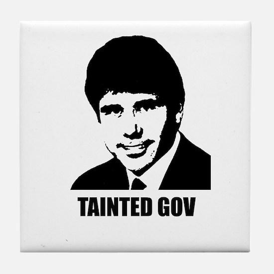 Rod Blagojevich - Tainted Gov Tile Coaster