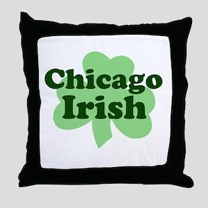 Chicago Irish Throw Pillow