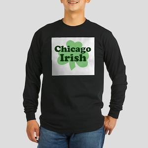 Chicago Irish Long Sleeve Dark T-Shirt