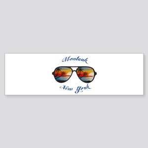 New York - Montauk Bumper Sticker