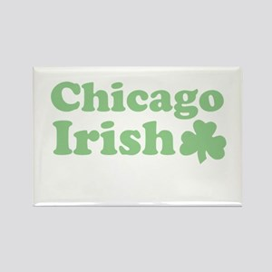Chicago Irish Rectangle Magnet