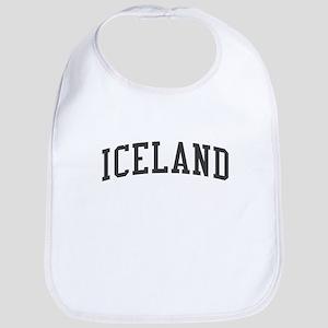 Iceland Black Bib