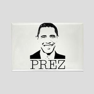Barack Obama - Prez Rectangle Magnet