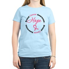 Breast Cancer HOPE Women's Light T-Shirt