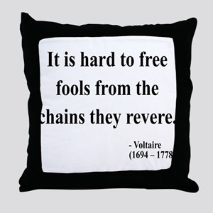 Voltaire 5 Throw Pillow