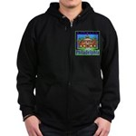 Love Pennsylvania Zip Hoodie (dark)