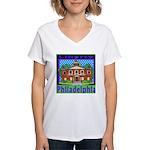 Love Pennsylvania Women's V-Neck T-Shirt