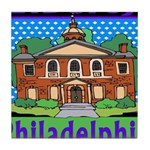 Love Pennsylvania Tile Coaster