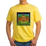 Love Pennsylvania Yellow T-Shirt