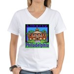Love Pennsylvania Women's V-Neck T-Shirt
