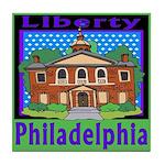 Love Pennsylvania Tile Coaster