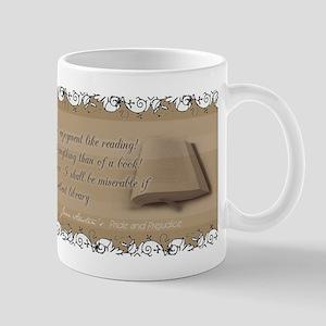 P&P Reading Quote Mug
