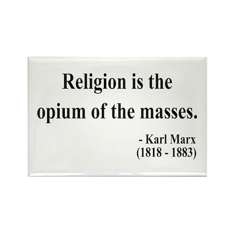 Karl Marx 1 Rectangle Magnet (100 pack)