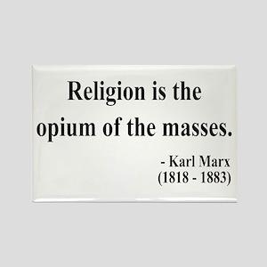 Karl Marx 1 Rectangle Magnet