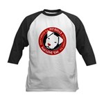 Pit Bulls: Just Love 'Em! Kids Baseball Jersey